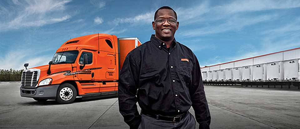 Driving with Schneider National - Job Placement - TDI